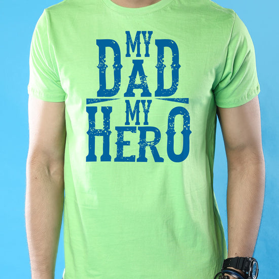 Heroes In Green Dad And Son Matching Adult Tees