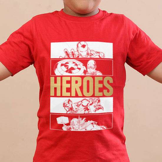 Heroes, Marvel Tees For Kids