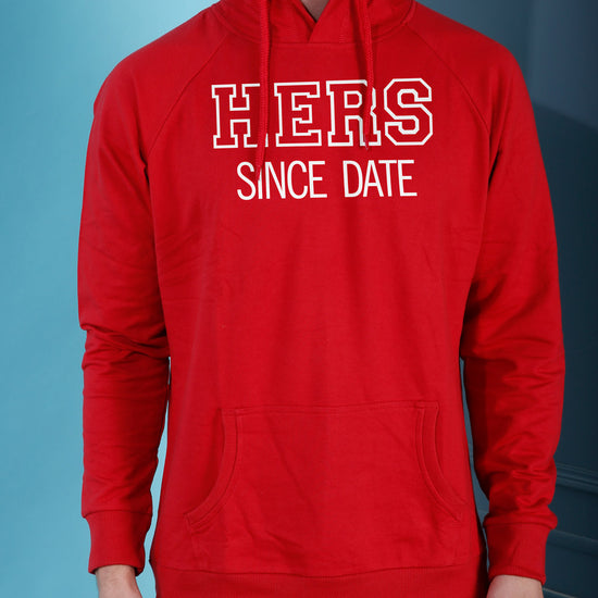 His/Hers, Matching Hoodie For Men And Crop Hoodie For Women