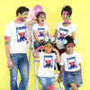 Holi Cow , Matching Holi Family Tees