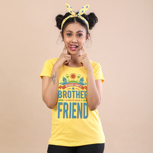 I Always have a Friend Bro & Sis Tees
