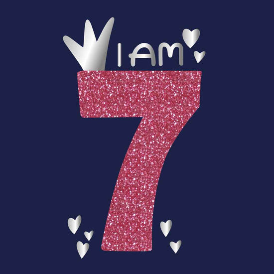 I Am 7 Birthday Tees