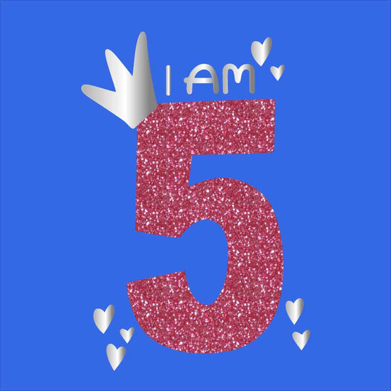 I Am 5 Birthday Tees