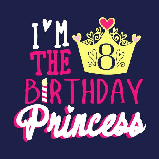 I Am The Bithday Princess Birthday Tee