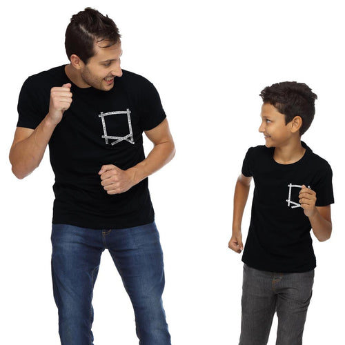 I Can Hold Back Dad And Son Tshirt