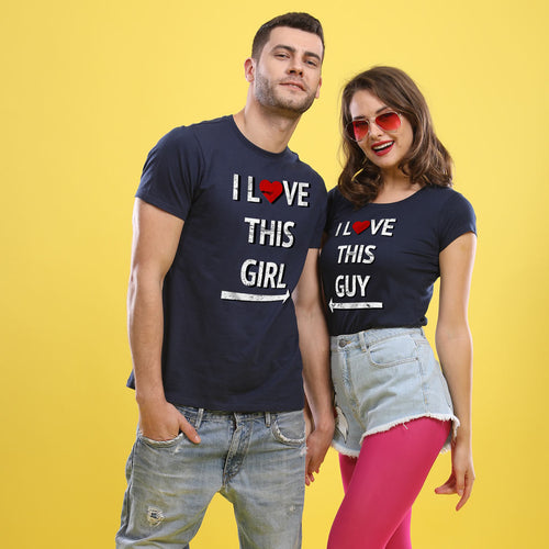 I Love This Girl/Guy, Matching Tees For Couples