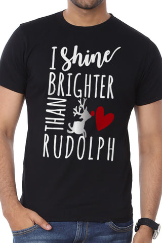 I Shine Brighter, Single Tee For Men
