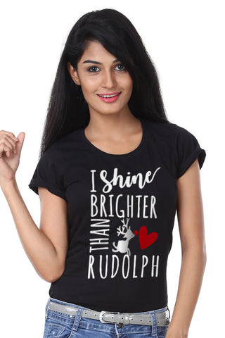 I Shine Brighter, Single Tee For Women