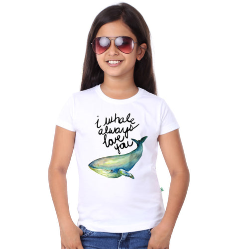 I Whale Always Love You Dad & Daughter Tees for daughter