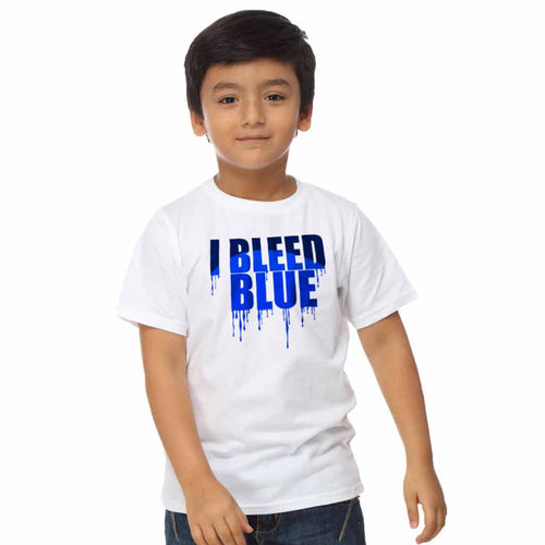 I Bleed Blue Tee For Boy