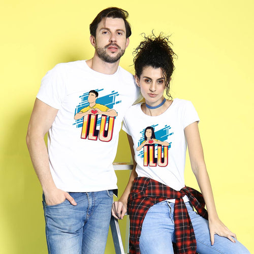 ILU, Matching Tees For Couples