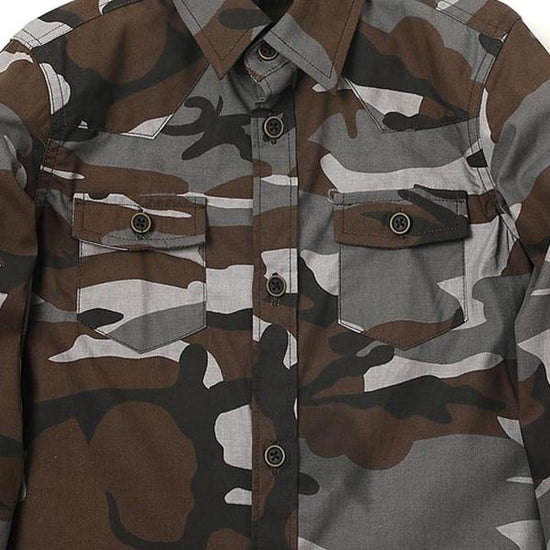 Camouflage Shirt For For Boy
