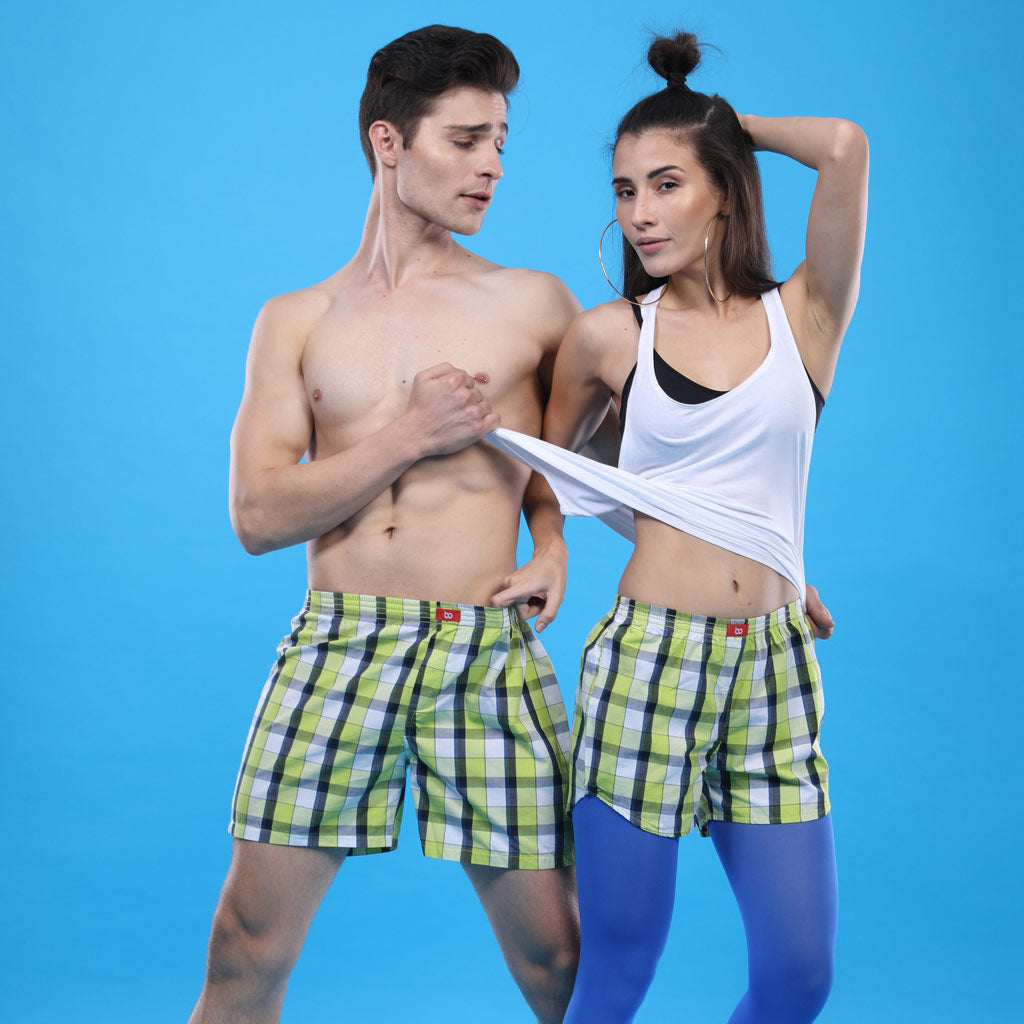 Don T Go Matching Couples Valentines Day Boxers