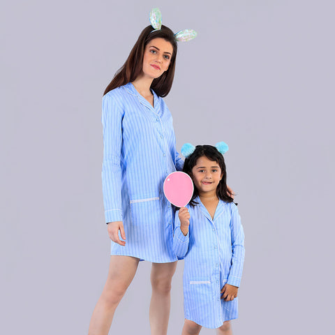 Party All Night Matching Sleep Wear For Mom And Daughter