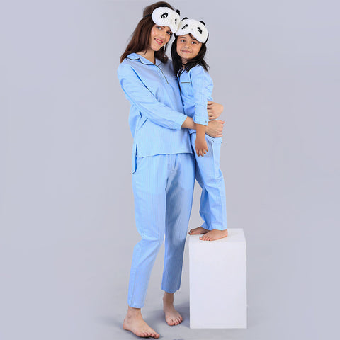 Never Go To Bed Matching Sleep Wear For Mom And Daughter