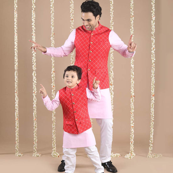 99 Matching Ethnic Wear For Dad Amp Son Dad Amp Son Party Wear