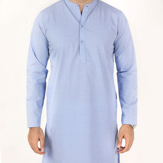Powder Blue, Matching Kurta For Dad And Son