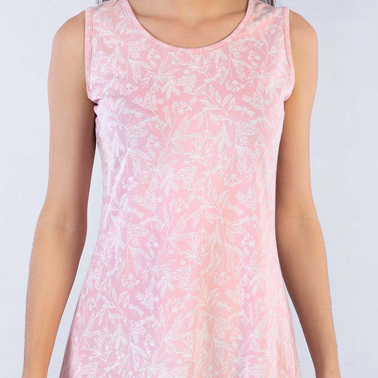 Pink All The Way Floral Print Shift Dress For Mom And Daughter