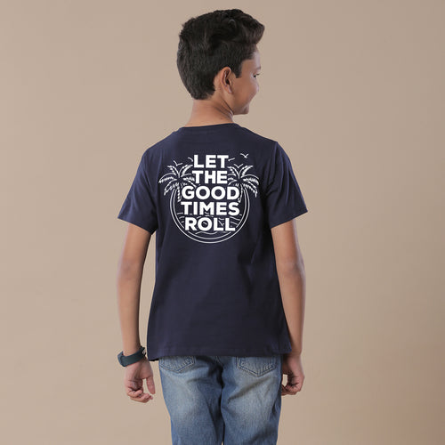Let The Good Times Roll, Matching Travel Tees For Boy