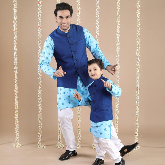 99 Matching Ethnic Wear For Dad Son Dad Son Party Wear
