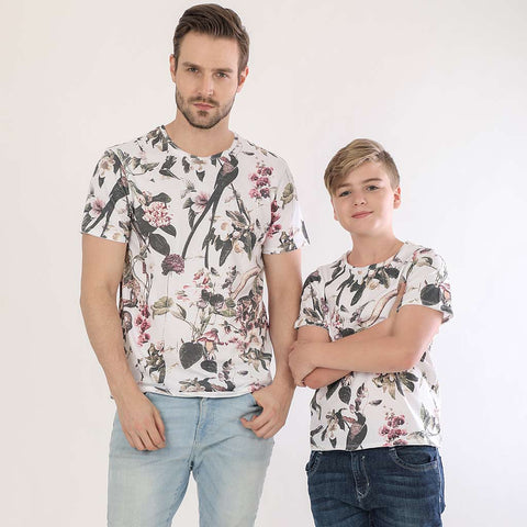 Wild Life, Dad And Son Matching Tees