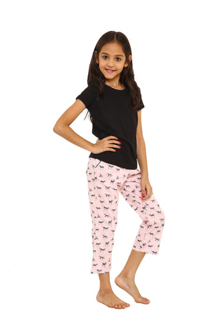 conversational print pink Sleepwear set Only