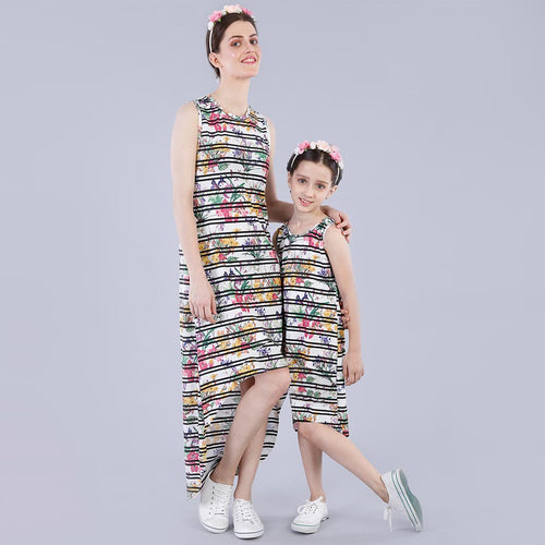 A Pinch Of Glamour High Low Dress For Mom And Daughter