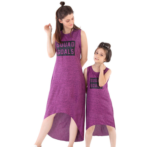 Squad Goals High Low Dress For Mom And Daughter