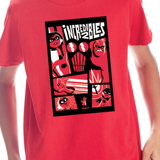 The Incredibles, Pixar Tees For Boys