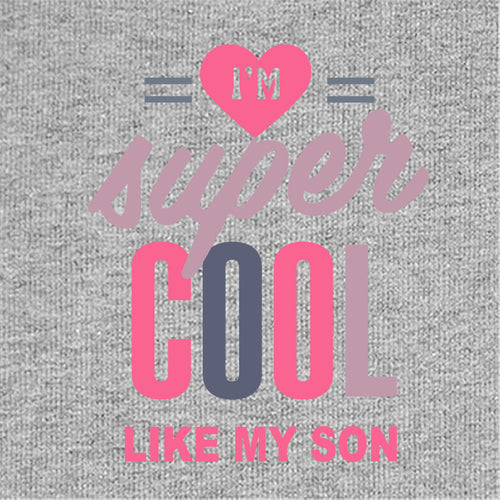 Cool And Great Mom & Son Bodysuit And Tees