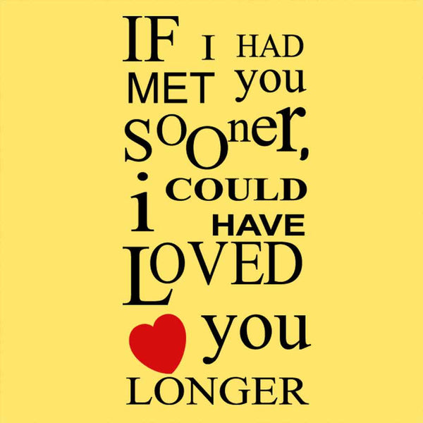 if i had not met you Best answer: i wish i had met you is the right one would have (plus a past participle) goes in the result clause example: i wish i had met you five.