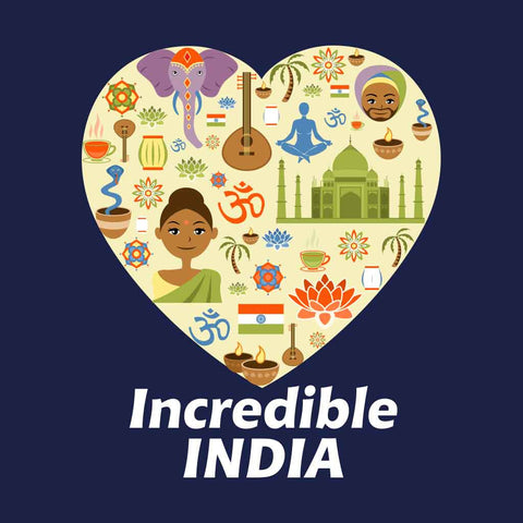 Incredible India Family Tees