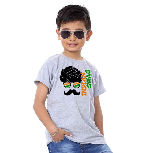 Indian Swag Family Tees for son