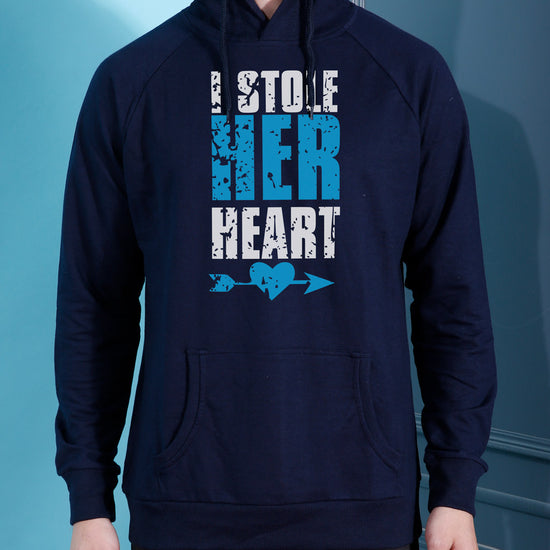 I Stole His/Her Heart Hoodie For Men