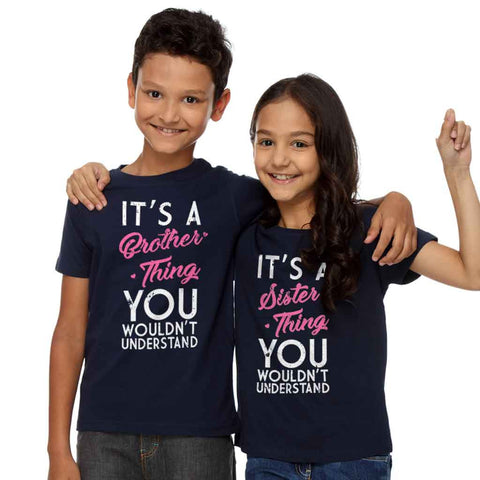 Brother-Sister Thing Tees