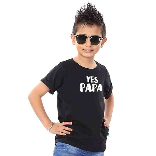 White Black Johnny Johnny Yes Papa Dad Son Tees