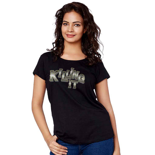 Killing It Adult Tee For Adult Sister