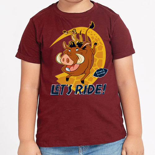 The Lion King: Let's Ride, Disney Tees For Kids