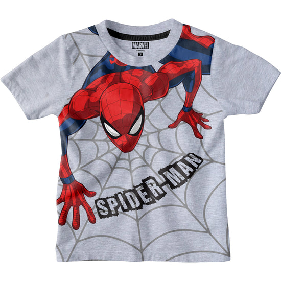 Spider Man Grey Boys Tshirts