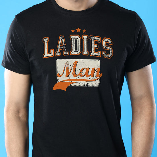 Ladies Man Dad And Son Matching Adult Tees