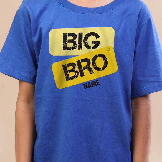Big Bro, Personalised Tee For Brother