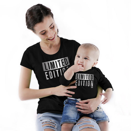 Limited Edition Mom & Baby Bodysuit And Tees