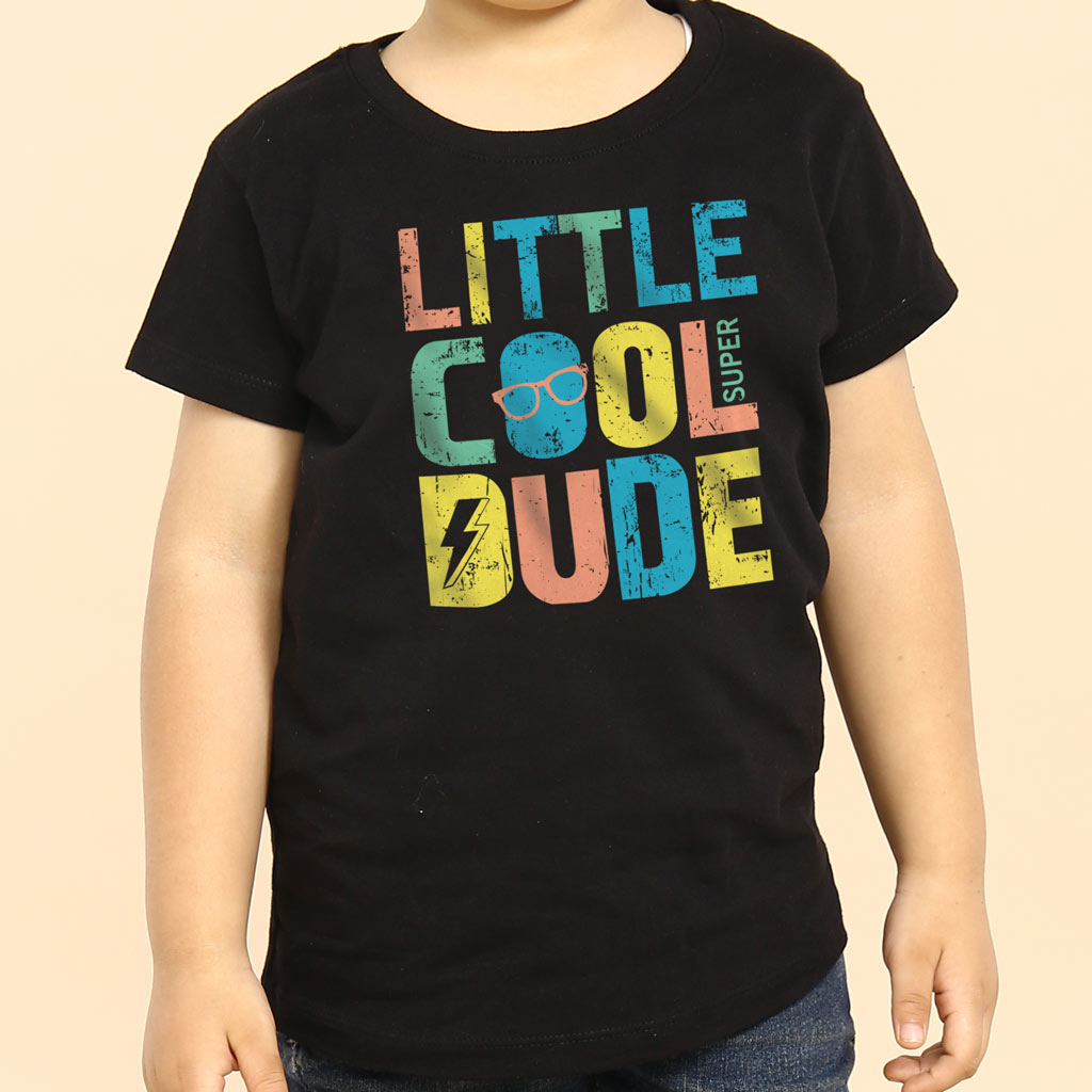 fc0c7e1d Big/Little Cool Dude, Matching Tees For Brothers