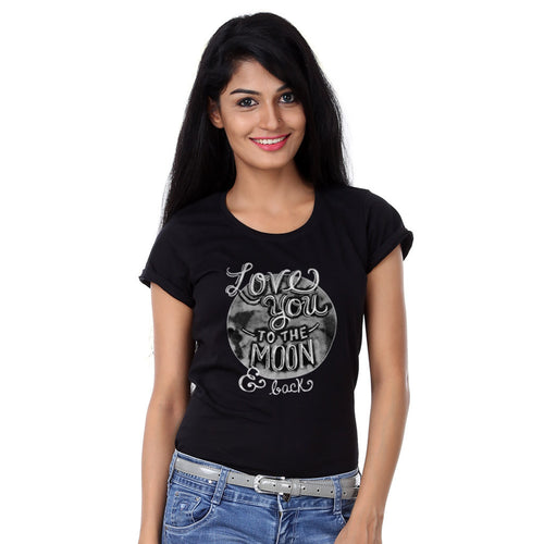 Love You To The Moon  Family Tees for mother