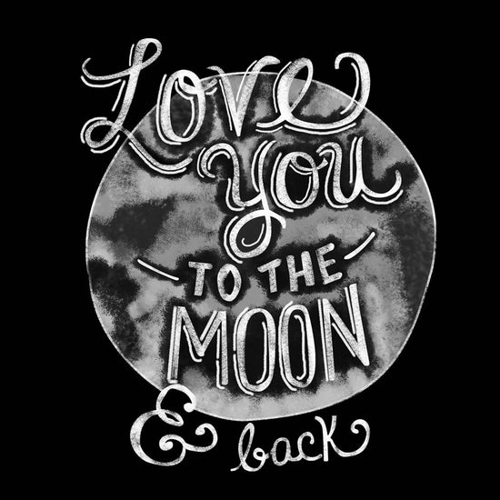 Love You To The Moon Dad & Daughter Tees