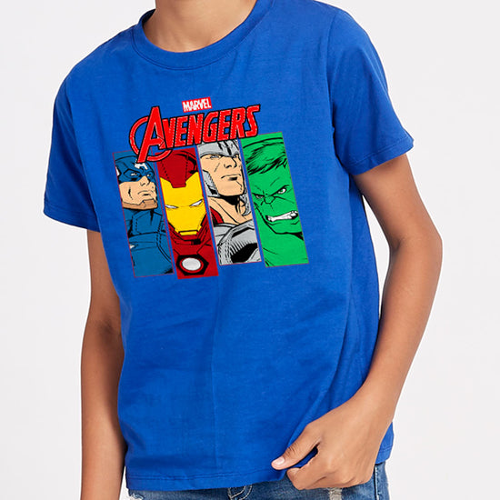 Ironman And Team, Marvel Tees for Boys