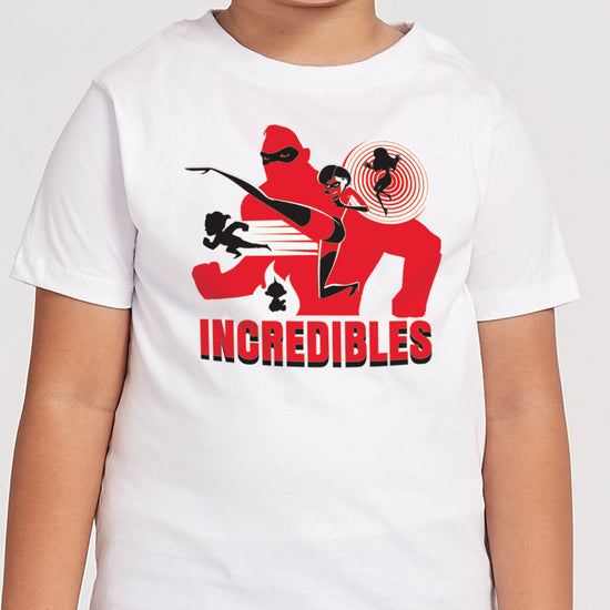 Incredibles In White, Matching Family Tees
