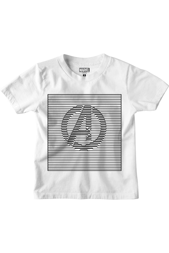 Avengers Logo Printed tees for boys