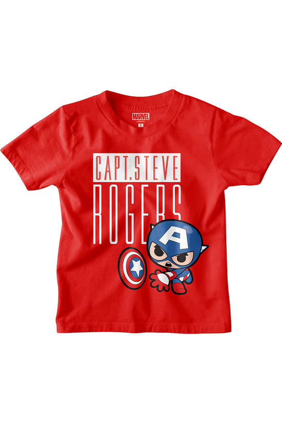 Capt. Steve Rogers Marvel Tees for Boy