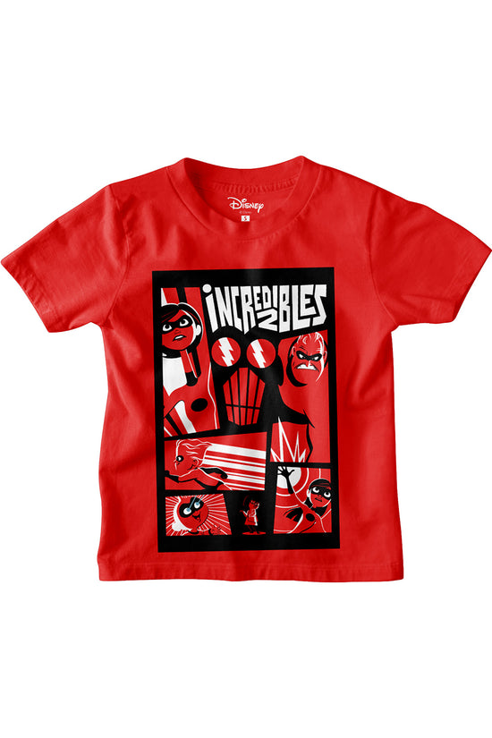 The Incredibles boys tees